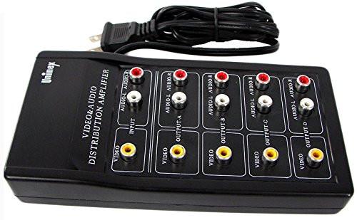 Видео аудио сплиттер/разветвитель/ усилитель NEWSTAR 1х4