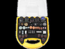 """Набор мини-насадок STAYER """"MASTER"""" для гравировальных машин, 186 предметов, пластиковый кейс"""