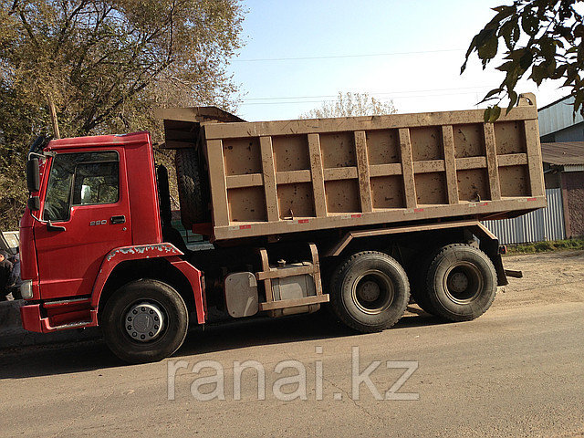 Доставка сыпучих грузов (балласт, песок, отсеф, глина, сникерс)