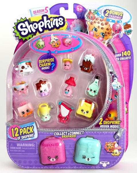 Shopkins, Шопкинс (5 сезон) 12 игрушек в упаковке