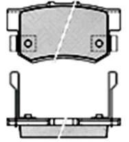 Тормозные колодки KEBO CD5066M