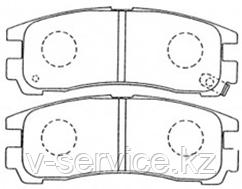 Тормозные колодки KEBO CD6024M