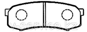 Тормозные колодки KEBO CD2090