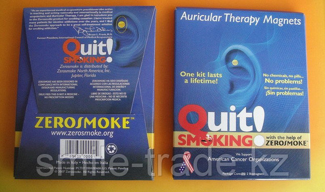 ZeroSmoke - биомагниты против курения