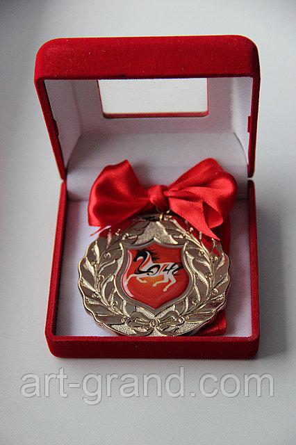 Новогодняя медаль