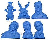 """Формочки Игрушки для кинетического песка 6 фигур """"Холодное сердце"""" (игрушки для песочницы)"""