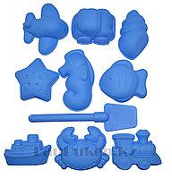 """Формочки Игрушки для кинетического песка 10 фигур """"Морские зверушки"""" (игрушки для песочницы)"""