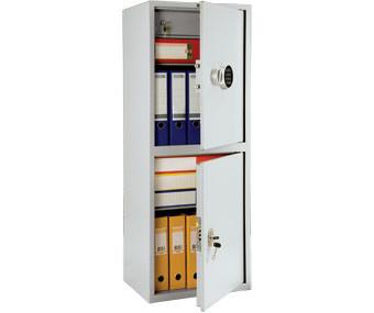 Бухгалтерский шкаф ПРАКТИК SL-125/2Т EL