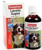 Beaphar Laveta Suрer Hund, Беафар Лавета Супер, мультивитамины для шерсти собаки, 50 мл., фото 1