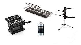 Набор для пасты Marcato Pasta Set Le Cadeau Nero (Atlas 150 mm + Ravioli Tablet + Tacapasta + Dispenser)