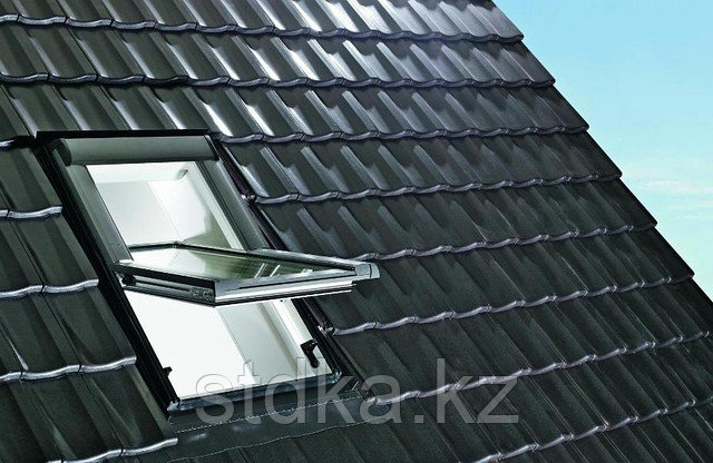 Мансардное  окно R45 K WD из ПВХ (65*118см) в комплекте