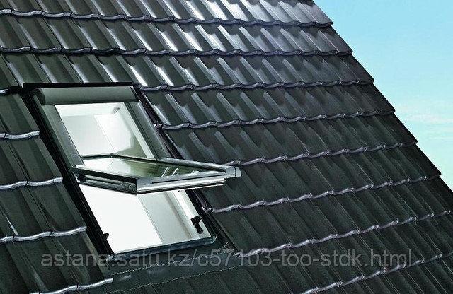 Мансардное  окно R45 K WD из ПВХ (74*98см) в комплекте