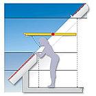 Мансардное  окно R45 K WD из ПВХ (74*98см) в комплекте, фото 2