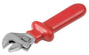 Ключ разводной НИЗ диэлектрический, хромированное покрытие, 30мм/250мм