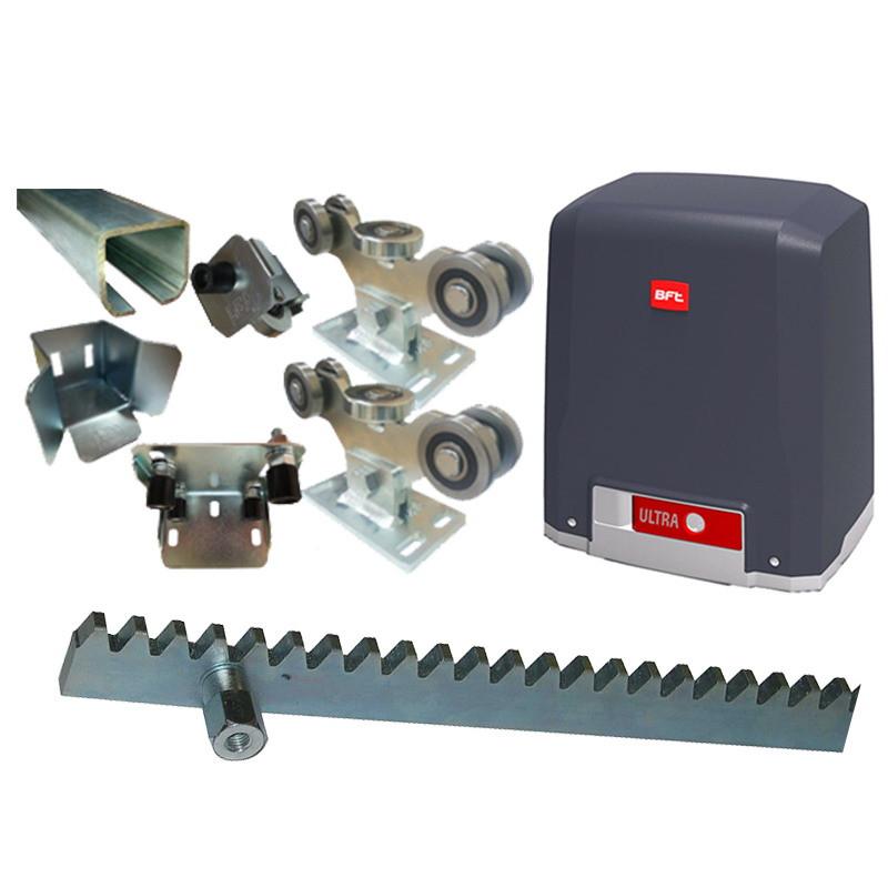 Комплект для изготовления и автоматизации откатных ворот весом до 450 кг.  и шириной проема до 4 м.