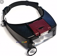 Лупа-очки МG81007