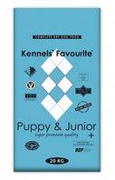Сухой корм для щенков и юниоров  Kennel's Favourite puppy & junior +