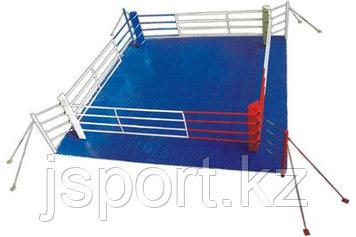 Ринг боксерский  на растяжках 5 х 5 м  (боевая зона 4м х 4м )