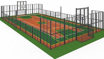 Строительство спортивных площадок под ключ