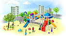 Строительство детских игровых площадок, фото 5