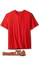 Красная футболка с V-образным вырезом, фото 1