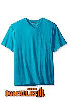 Голубая футболка с V-образным вырезом, фото 1