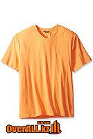 Персиковая футболка с V-образным вырезом, фото 1
