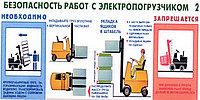 Обучение водителей электрокары, электроштаблера, автопогрузчика на различных видах топлива