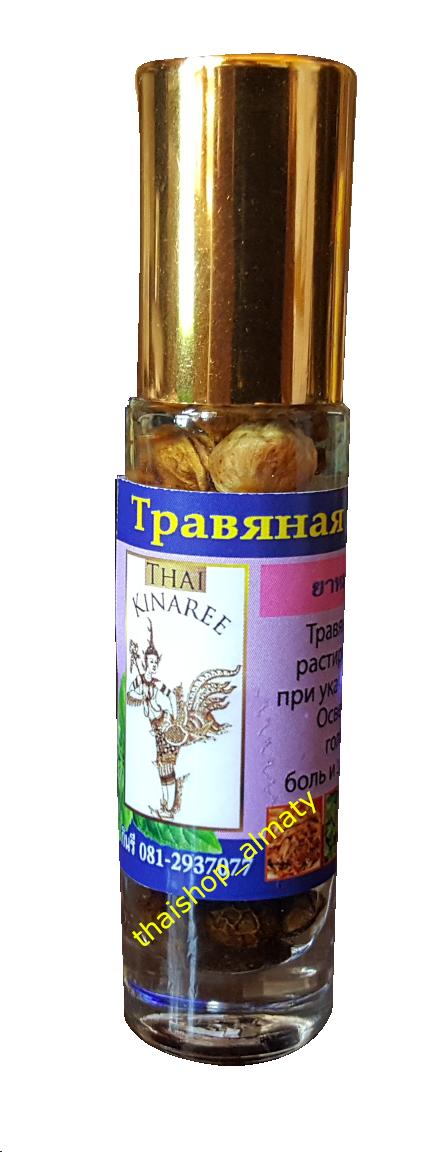 Шариковый ингалятор-бальзам на травах жидкий