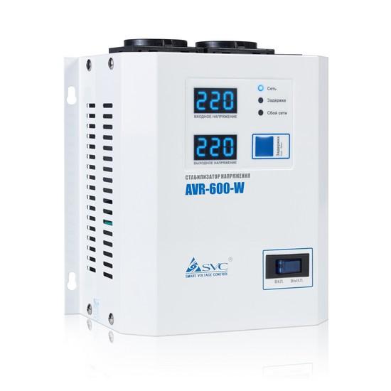 SVC AVR-600-W Стабилизатор напряжения, 600ВА/600Вт