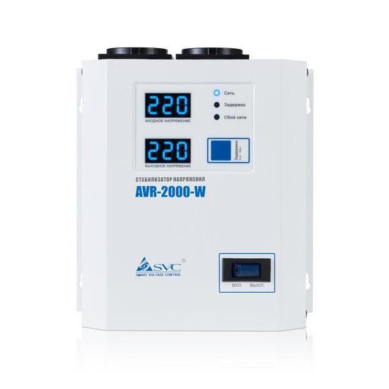 SVC AVR-2000-W Стабилизатор напряжения, 2000ВА / 2000Вт
