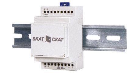 Малогабаритные источники бесперебойного питания SKAT - 12-1.0-DIN, фото 2