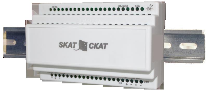Малогабаритный источник бесперебойного питания SKAT - 12-3.0-DIN, фото 2