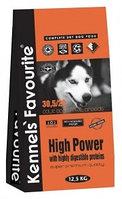 Сухой корм для спортивных, рабочих собак Kennels' Favourite High Power
