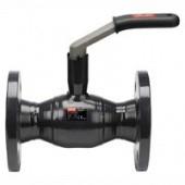Кран шаровый стальной фланцевый Ду-40, Danfoss, Jip Standard FF, Ру 16