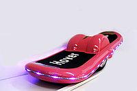 "Электроборд (гироскутер) ""Hover Wheels"", с подсветкой (розовый), фото 1"