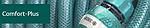 Поливочная система быстрого соединения COMFORT-PLUS из ABS-пластика с резиновым покрытием TPR
