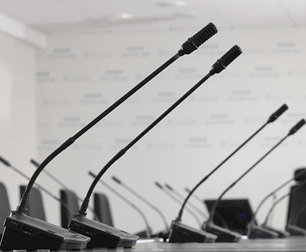Конференц микрофоны