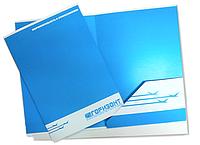Папки фирменные с логотипом