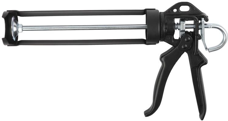 """Пистолет KRAFTOOL """"INDUSTRIE"""" для герметиков, полуоткрытый, поворотный, 320мл"""