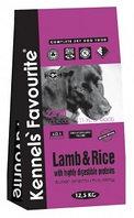 Сухой корм для собак всех пород Kennels' Favourite Lamb & Rice ягненок с рисом