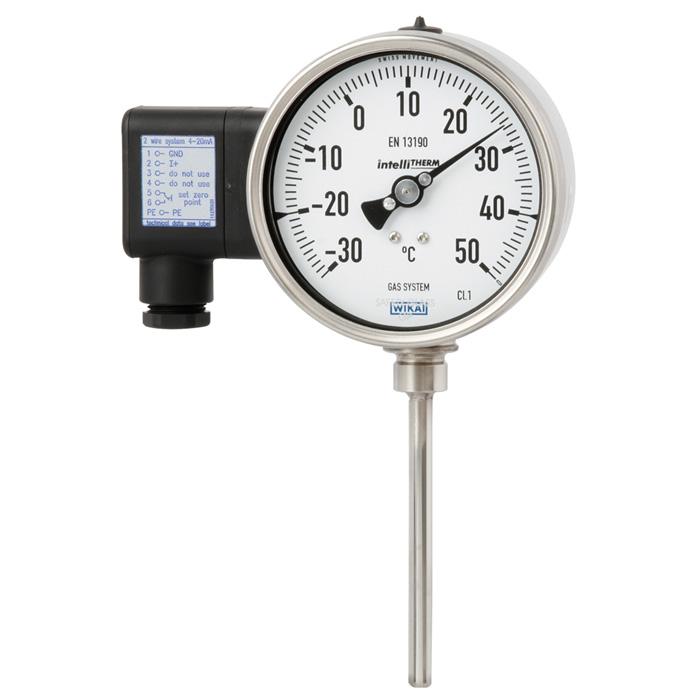 Модель TGT73 манометрический термометр с электрическим выходным сигналом WIKA