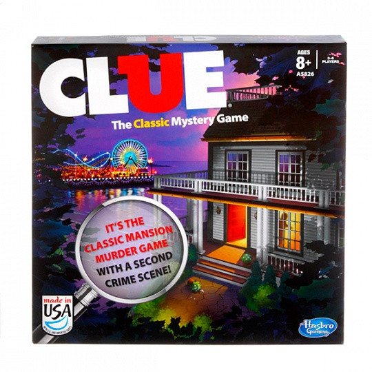 """Hasbro Games Классическая детективная игра """"Cluedo"""""""