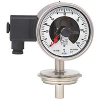 Модель 74-8xx манометрический термометр с переключающими контактами WIKA