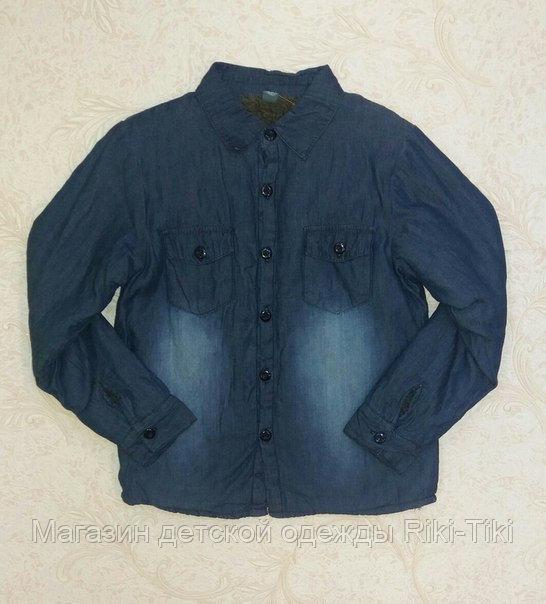 Куртка- рубашка для мальчика