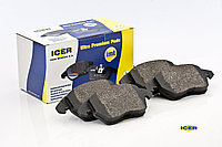 Тормозные колодки ICER 181678(REMSA 1144.00)