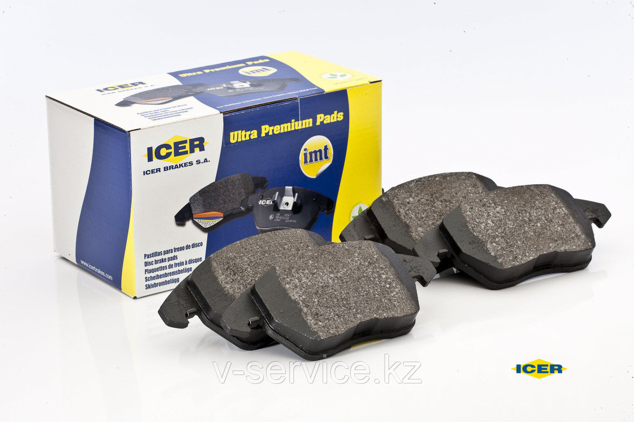 Тормозные колодки ICER 181764(REMSA 1233.00)