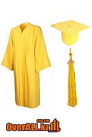 Мантия выпускника, желтая, фото 1