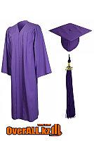 Мантия выпускника, фиолетовая, фото 1