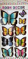"""Набор наклеек """"Бабочки"""" 5D, цветные, фото 1"""